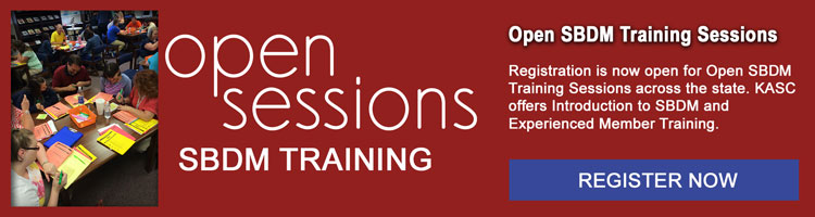 Open SBDM Training Sessions
