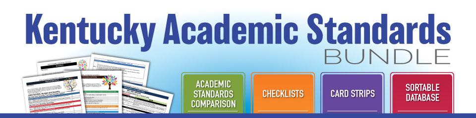 Kentucky Academic Standards Bundle